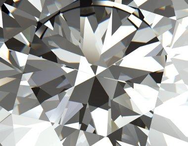 Facet Diamond  Background