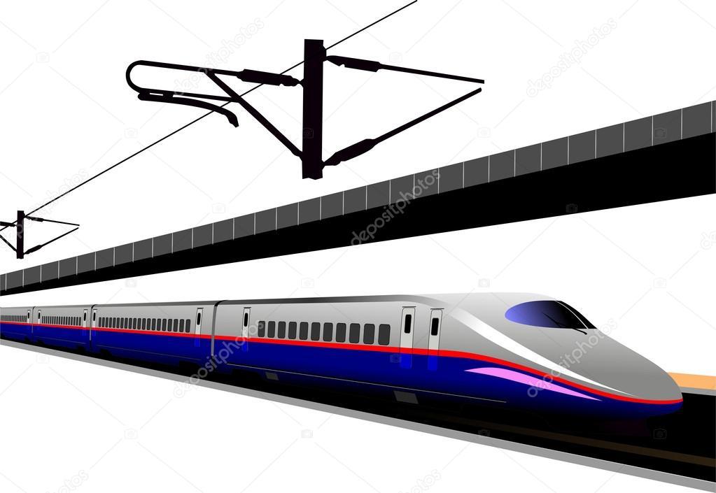 新幹線ベクトル イラスト ストックベクター Leonido 24950137
