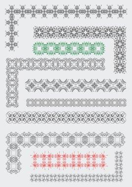 Ornamental Rule Lines dividers