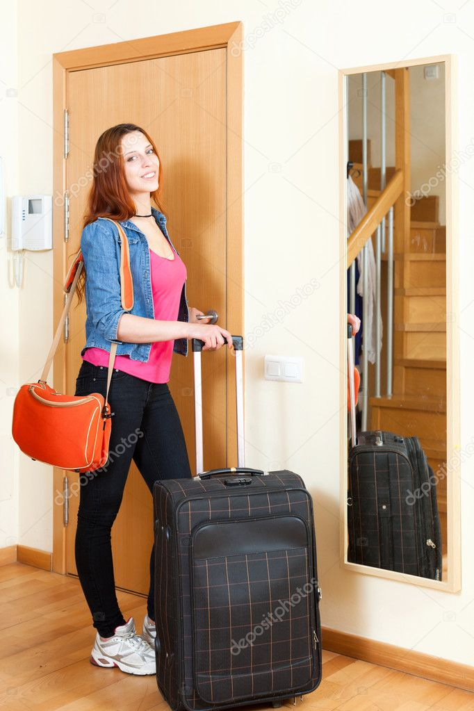woman leaving with luggage - 626×939