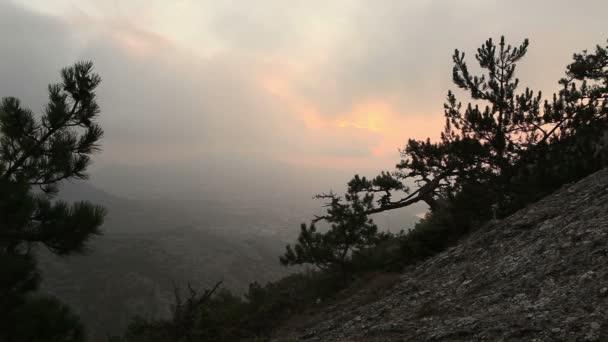 svítání v horách. Noviy svet, Krym, Ukrajina