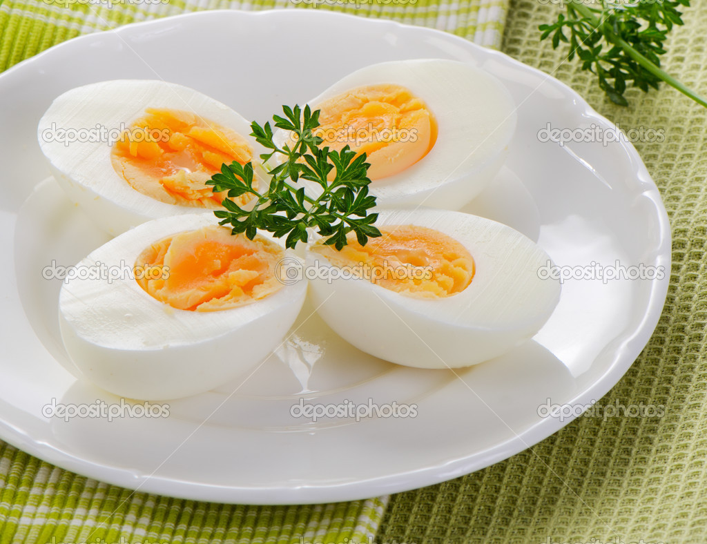 Вареные яйца — Стоковое фото © bit245 #33055631