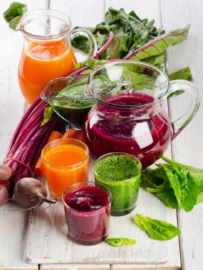 Smoothie and juice