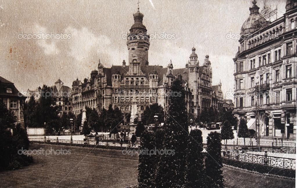 New Town Hall Leipzig 1905 Stock Photo C Igorgolovniov 37811201