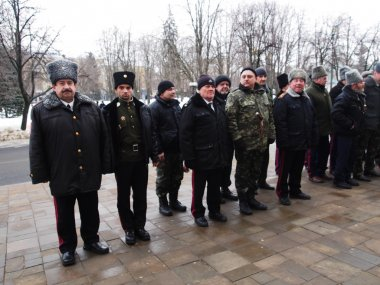 Cossacks ready to policing during mass events in Lugansk