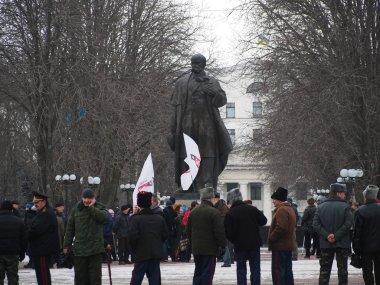Evromaydan rally in Lugansk