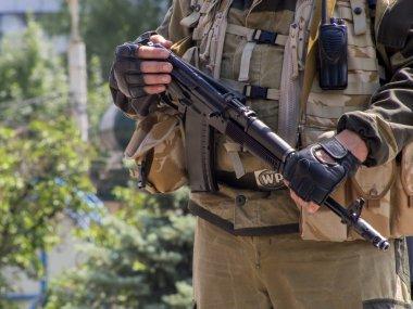 Private security company guarding Oleg Tsarev