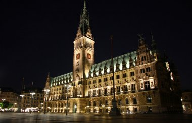 Hamburg Rathaus (City Hall), Germany