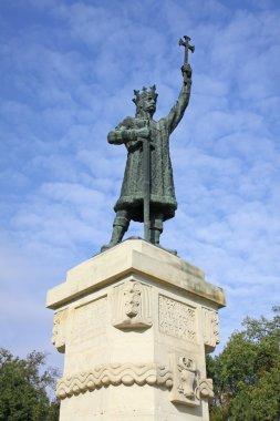 Monument of Stefan cel Mare in Chisinau