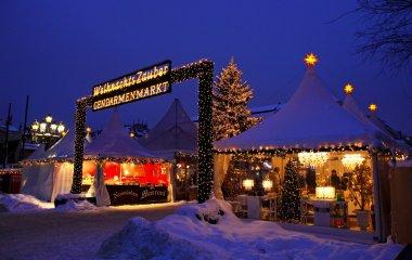 Christmas market at Gendarmenmarkt square in Berlin, Germany