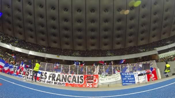 Fotbaloví fanoušci Ukázat svou podporu na stadionu