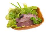 Uzené hovězí maso