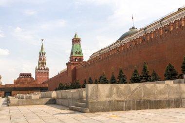 Spasskaya tower on Red Square