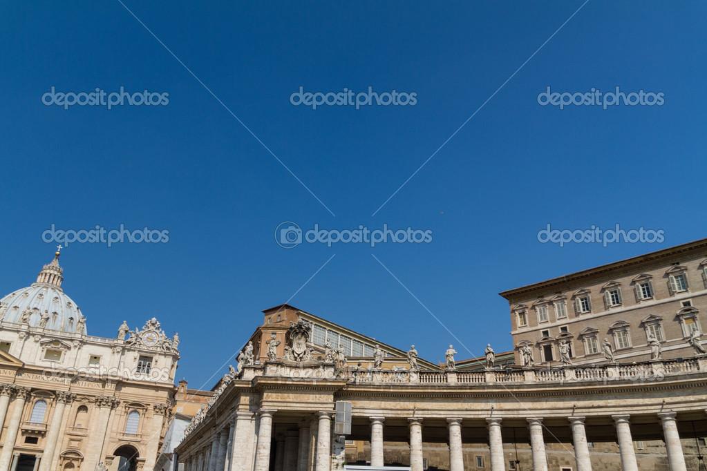 バチカン市国、聖座ローマ、イタリア内の建物 \u2014 ストック写真
