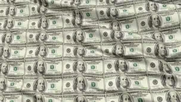 zmačkaný list nekrájené americké dolarové bankovky