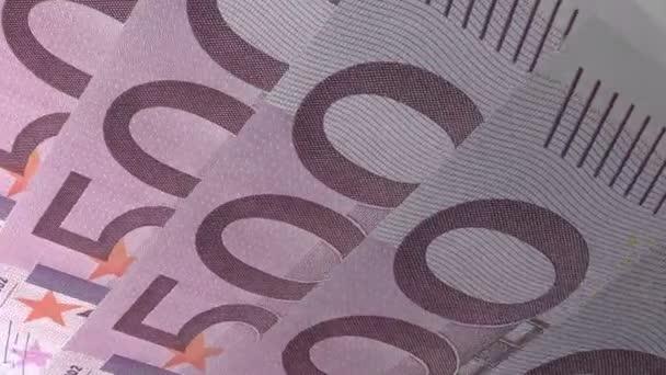 Texture Design 500 Euro Banknotes
