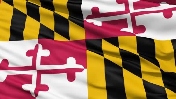 Mávání vlajkou USA státě maryland