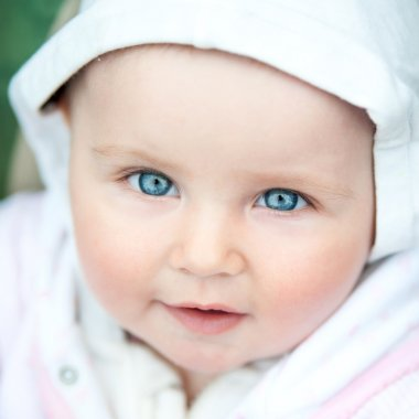 cute blue-eyed baby