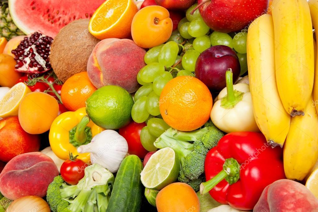 Больше свежих овощей и фруктов