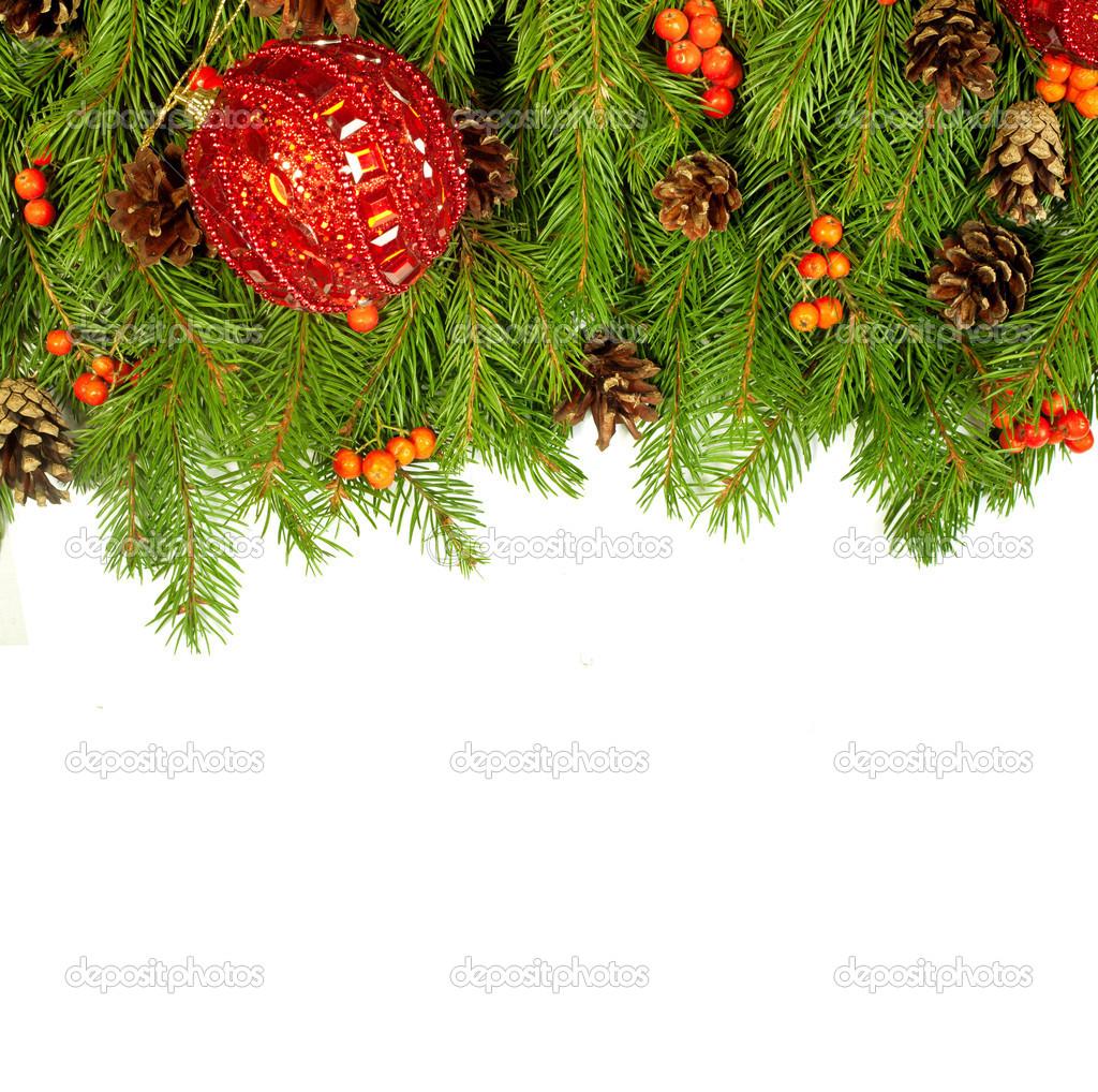 Weihnachten Hintergrund. Eva Rahmen — Stockfoto © bloodua #13867045