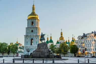 St. Sophia square in Kyiv, Ukraine