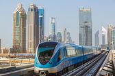 Fotografie Dubaj metro železnice