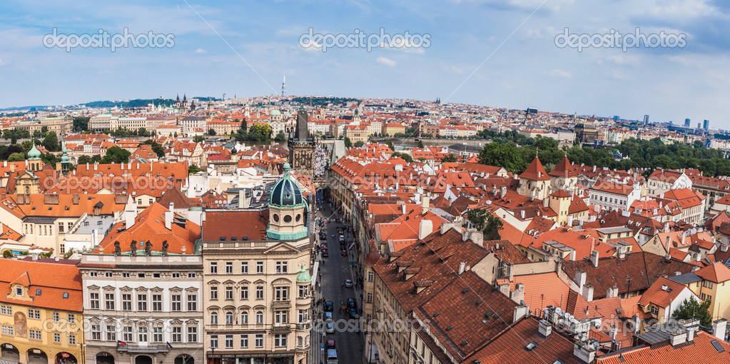 Prague City One Of The Most Beautiful City In Europe Stock Photo Bloodua 35291349