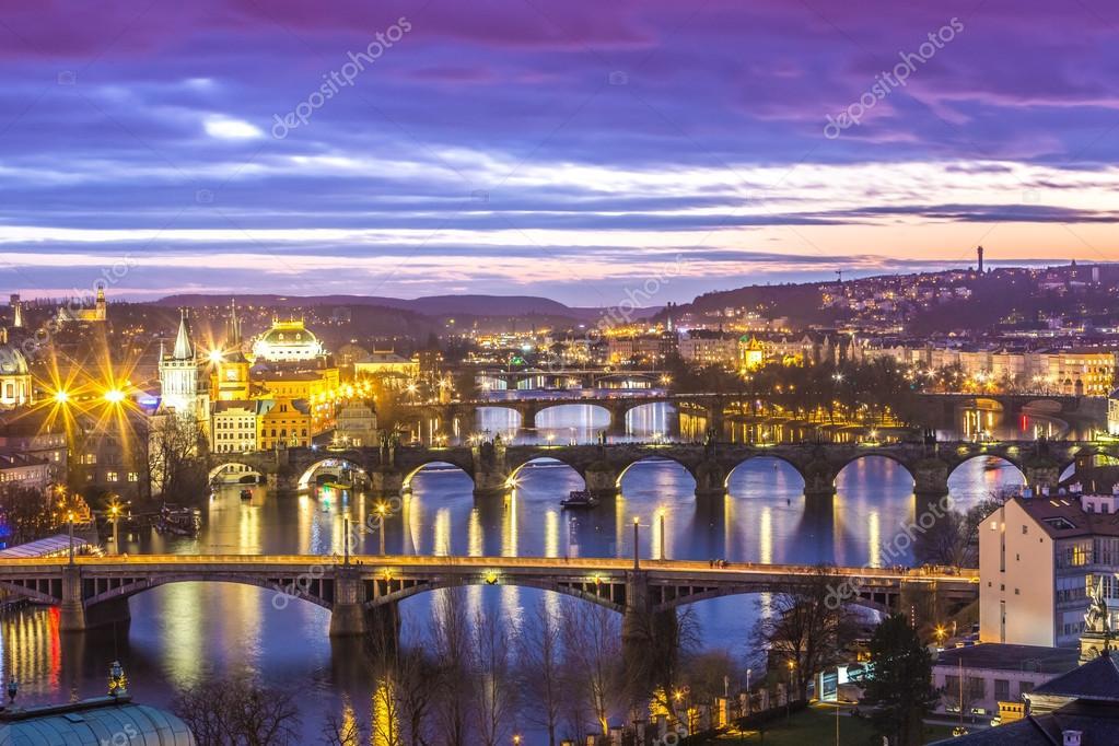 Bridges in Prague