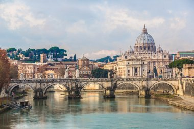 Saint Peter's Basilica and Sant'Angelo