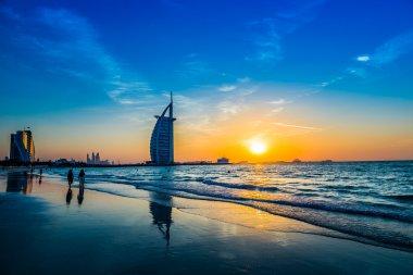 Seven stars hotel Burj Al Arab in Dubai