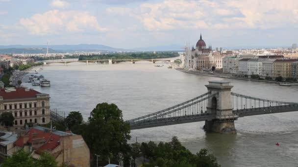panoráma, az épület a magyar Parlament