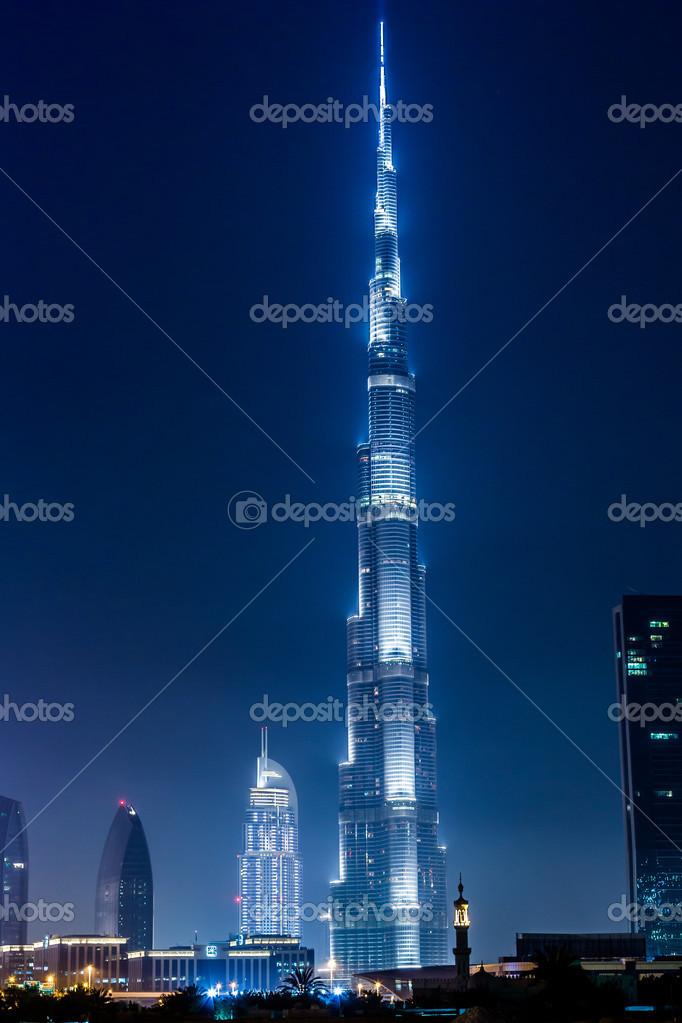 dubai uae november burj khalifa on november in dubai uae burj khalifa is currently the tallest building in the world at m