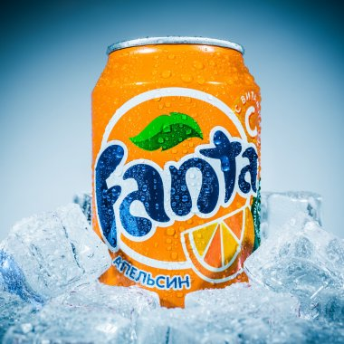 Can of Fanta Orange