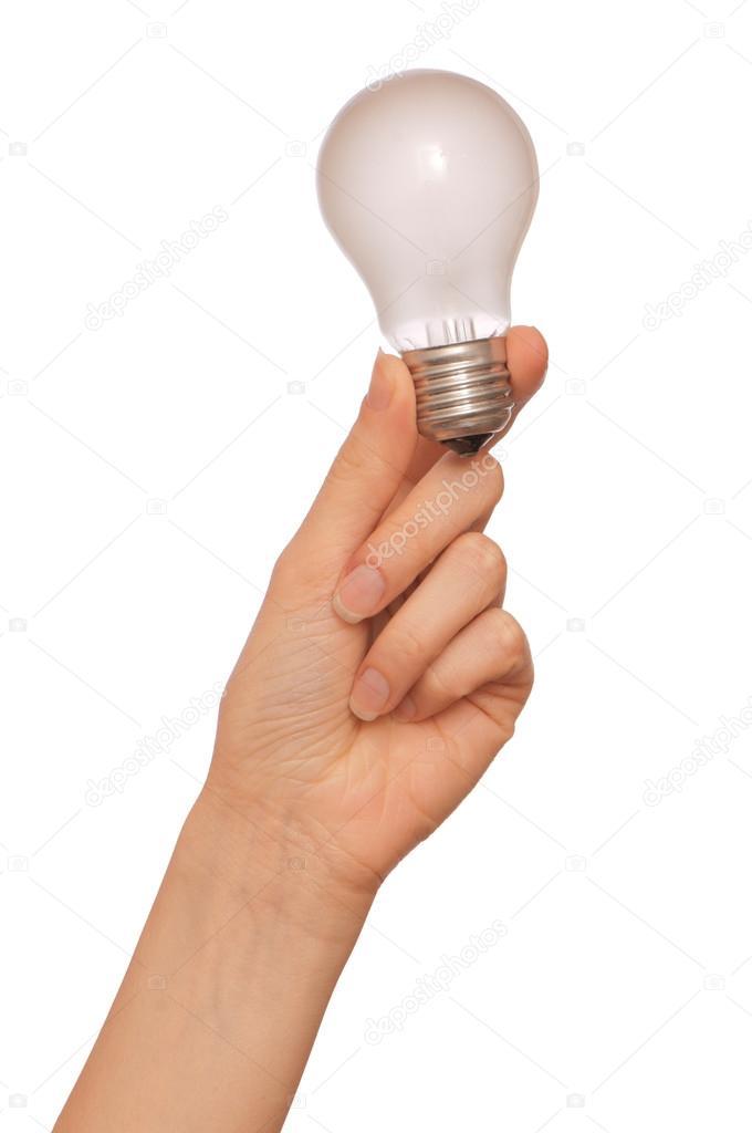 Lampe als Symbol des Lichts — Stockfoto © merzavka #12839485