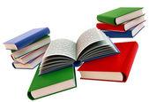 Fotografia set di libri