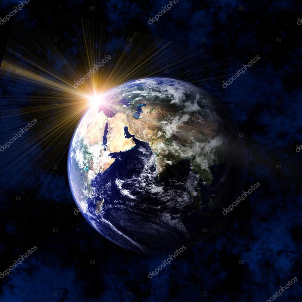 Sun From Space: Stock Photo © Paulpaladin #44568567