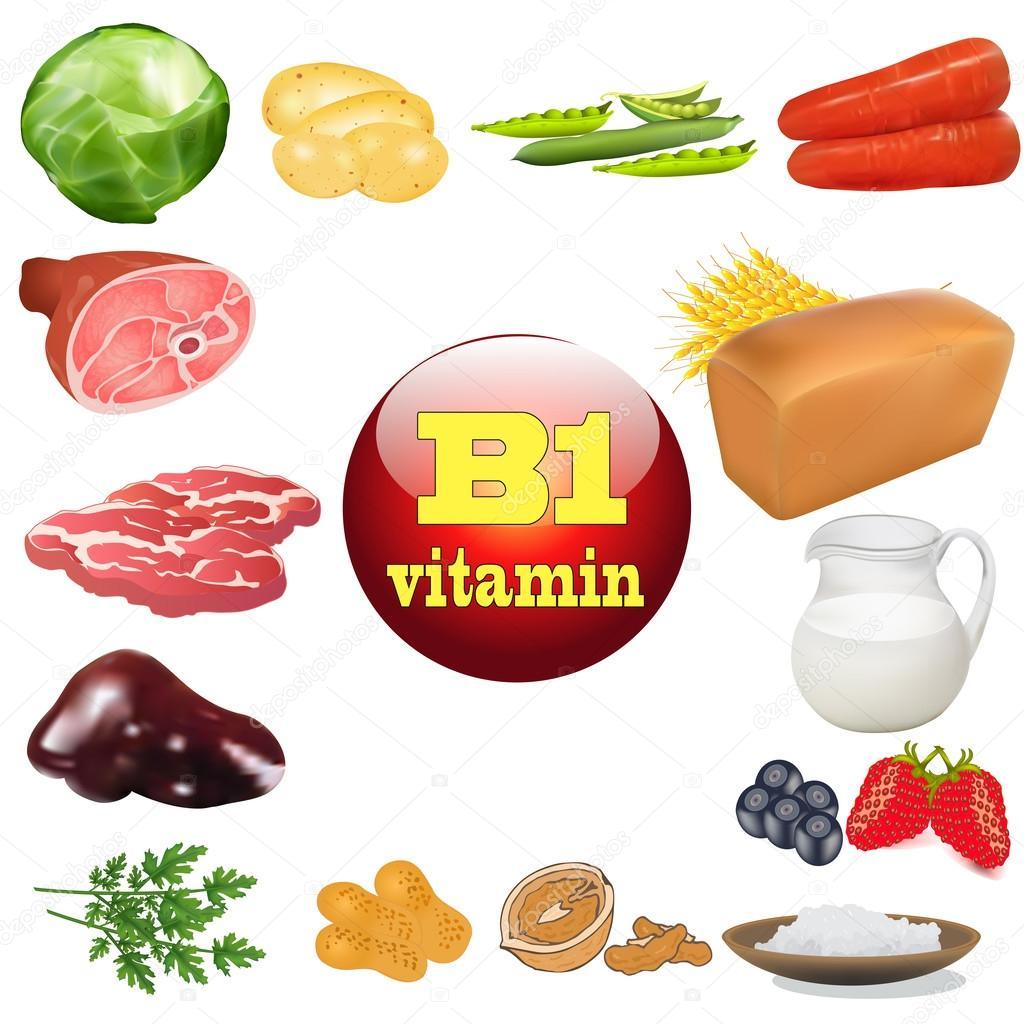 vitamine b producten
