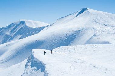 Snow Mountain stock vector
