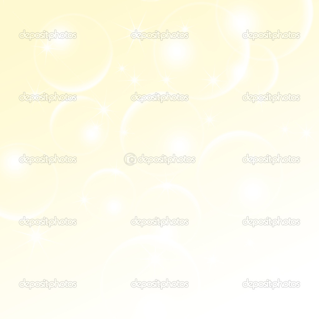 Abstract Light-cream Background With A Bokeh