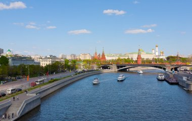 Moscow decorated to the Victory Day