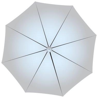 Studio Silver umbrella
