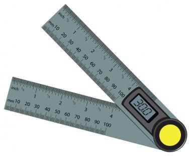 Digital Angle Finder Rule