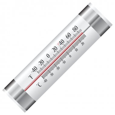 Thermometer for refrigerator