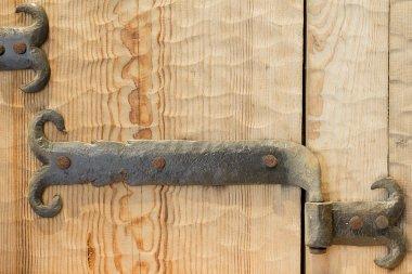 Old door hinge