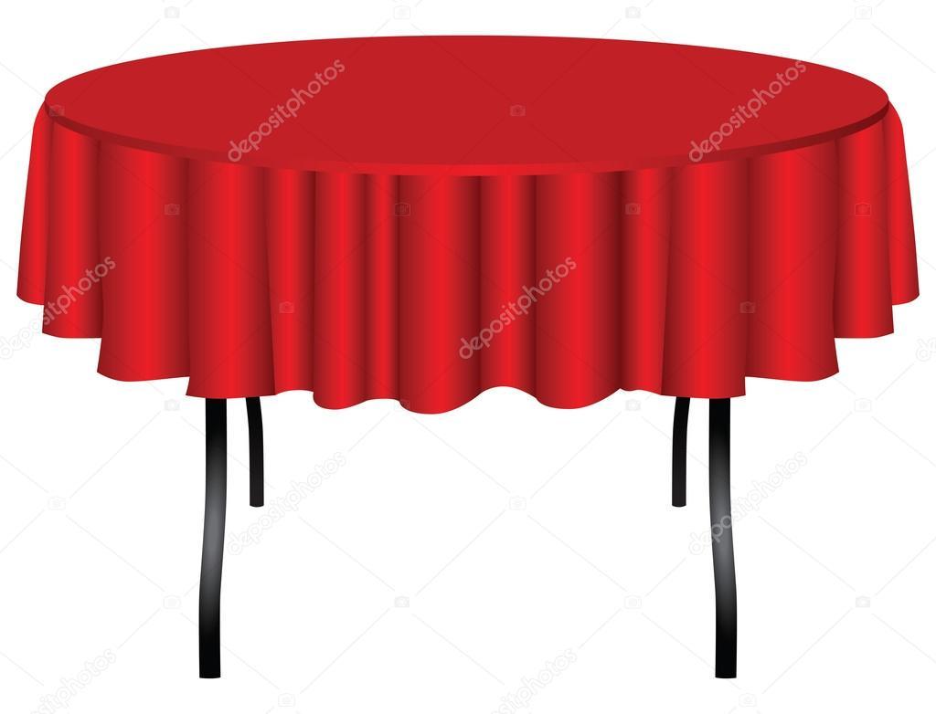 Round table on legs