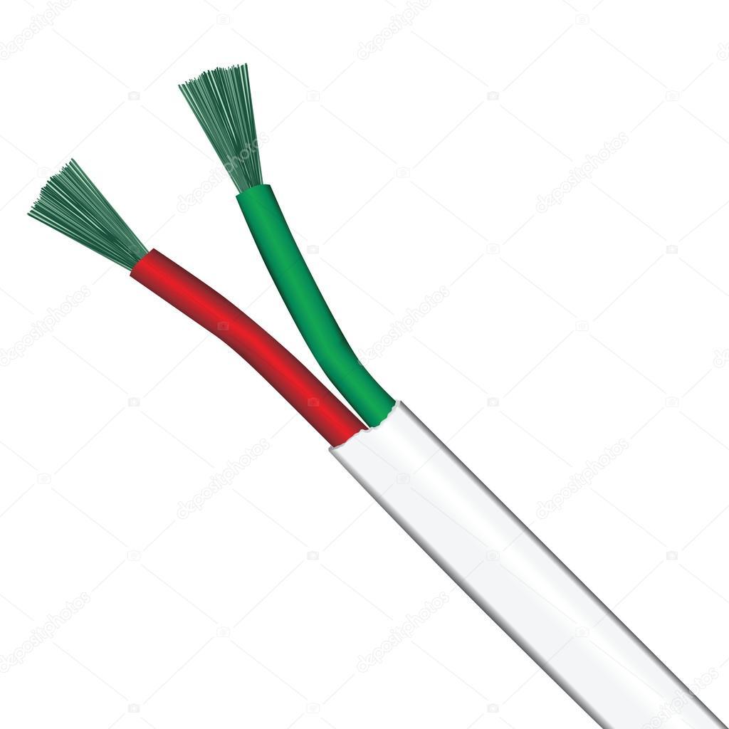 elektrische Kabel — Stockvektor © VIPDesignUSA #45773923