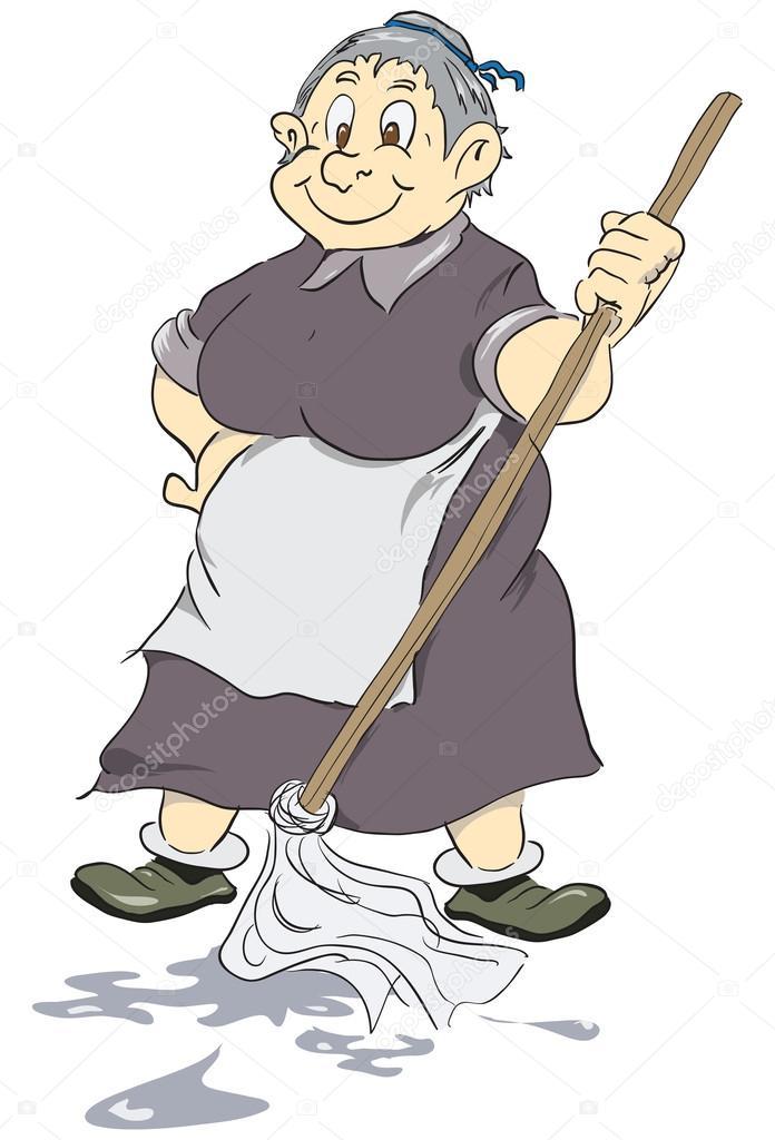 смешные картинки уборщица со шваброй попыталась объяснить певице