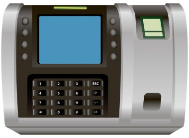 Lock with fingerprint scanner