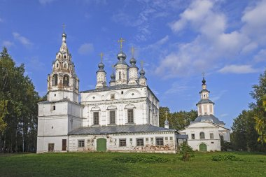 Ensemble of two ancient Orthodox churches