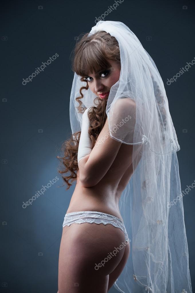 Невеста трусики фота